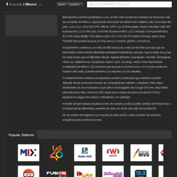 Radiosonline.com.mx thumbnail
