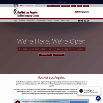 radnetbeverlyhills com at WI  RadNet Los Angeles   Los