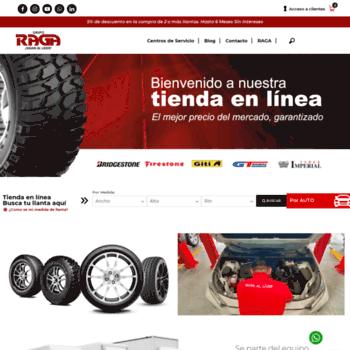 Raga.com.mx thumbnail