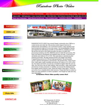 Rainbowphotovideo.com thumbnail