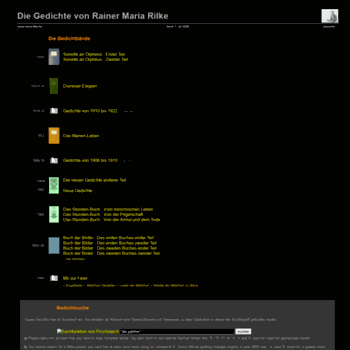 Rainer-maria-rilke.de thumbnail