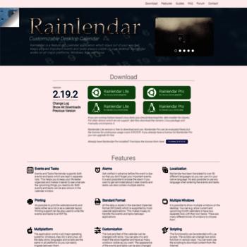 Rainlendar.net thumbnail