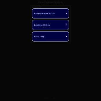 Rajasthanwildlife.in thumbnail