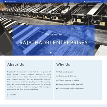 Rajathadrienterprises.in thumbnail