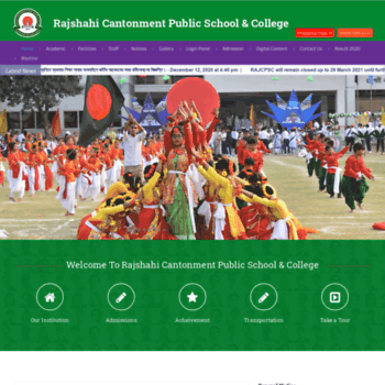 Rajcpsc.edu.bd thumbnail