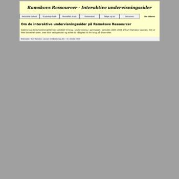 Ramskovsressourcer.dk thumbnail