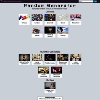 Random-generator.org.uk thumbnail