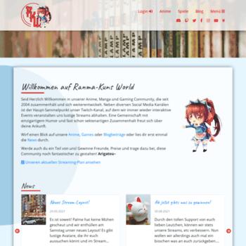 Ranma-kun.de thumbnail