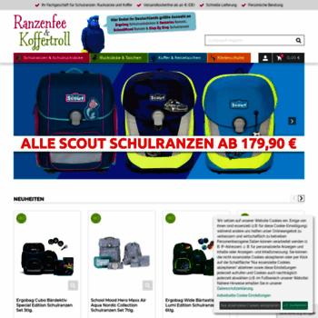 6b7cadd7d5086 ranzenfee-koffertroll.de at WI. Schulranzen u. Schulrucksäcke ...