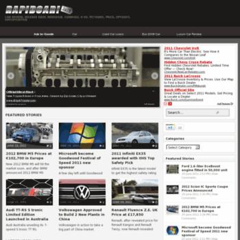 Rapidcar.info thumbnail
