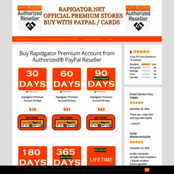 rapidgator biz at WI  RAPIDGATOR NET OFFICIAL PREMIUM STORES