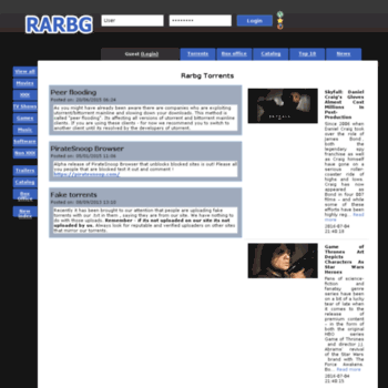 rarbg unblock index page
