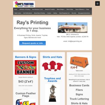 Raysprinting.net thumbnail