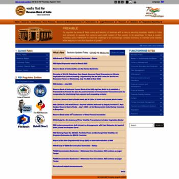 Rbi.org.in thumbnail