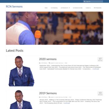 rcnsermons org at WI  Apostle Arome Osayi Sermons