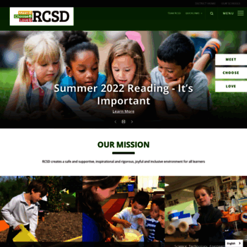 Rcsdk8net At Wi Redwood City School District Overview