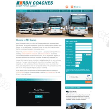 Rdhcoaches.co.uk thumbnail
