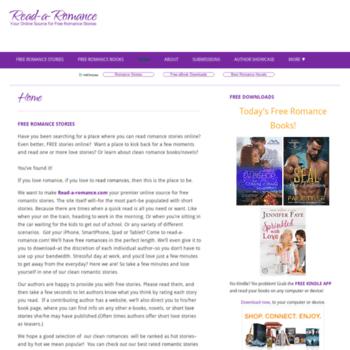 Read-a-romance.com thumbnail