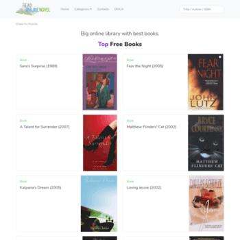 readonlinenovel net at WI  Read Online Free Books - Best Free Novels