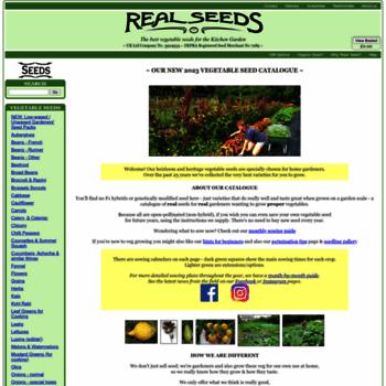 Realseeds.co.uk thumbnail