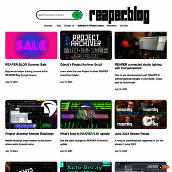 Reaperblog.net thumbnail