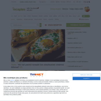 Receptes.tvnet.lv thumbnail