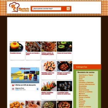 Recetario De Cocina.Recetario Cocina Com At Wi Recetario De Cocina Recetas De Cocina