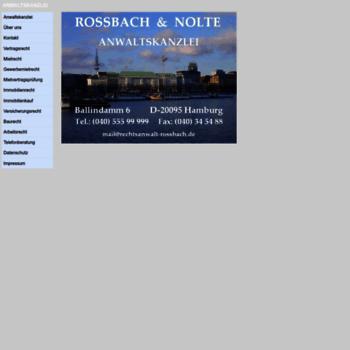 Rechtsanwalt-rossbach.de thumbnail