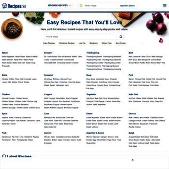 Recipe4living.com thumbnail