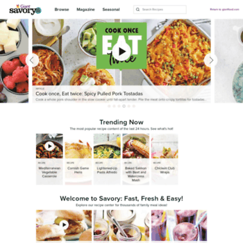 Recipecenter.giantfood.com thumbnail