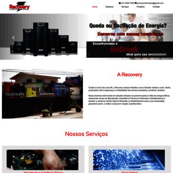 Recoveryinformatica.com.br thumbnail. Recovery Informática - Nobreaks ... 45d9beefcd