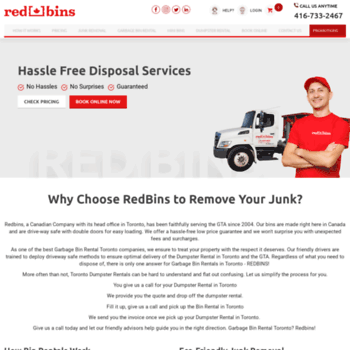 Redbins.ca thumbnail