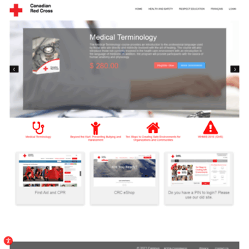 redcrosselearning.ca at wi. red cross campus: welcome