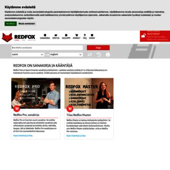 Redfox sanakirja