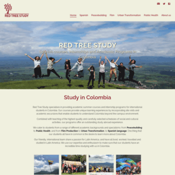 redtreestudy com at WI  Red Tree Study: Spanish courses and