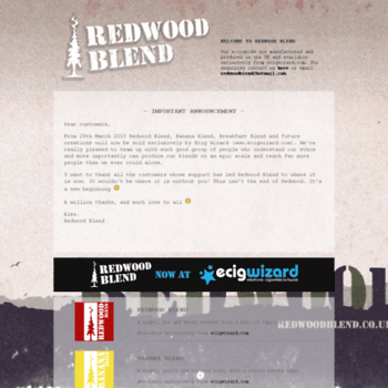 Redwoodblend.co.uk thumbnail