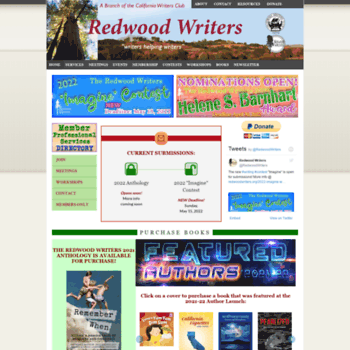 Redwoodwriters.org thumbnail