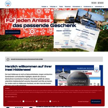 Reederei-hiddensee.de thumbnail