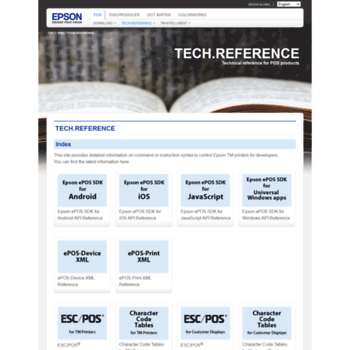reference epson-biz com at WI  Tech Reference - Epson