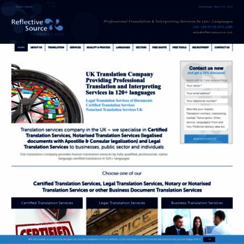 Reflectivesource.co.uk thumbnail