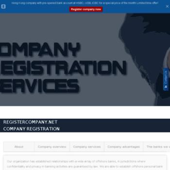 Registercompany.net thumbnail