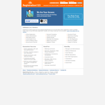 Registration123.com thumbnail