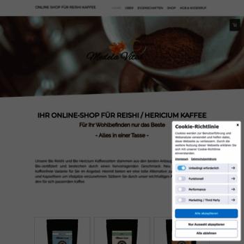 Reishi-kaffee-shop.de thumbnail