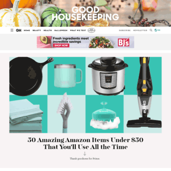 good housekeeping product reviews