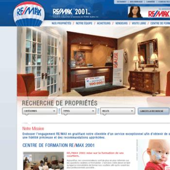 Remax-2001.qc.ca thumbnail