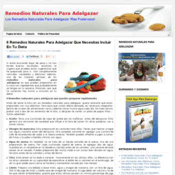 Remediosnaturalesparaadelgazar.org thumbnail