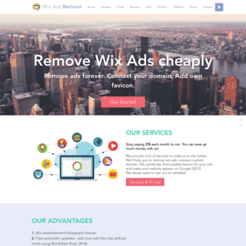 removewixads com at WI  Remove Wix Ads Forever cheaply | 2019