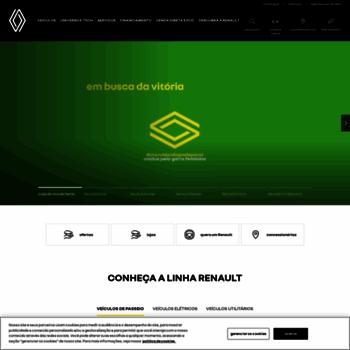 Renault.com.br thumbnail