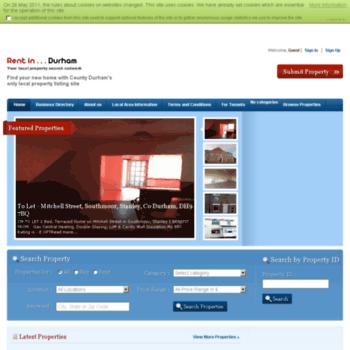 Rent-in-durham.co.uk thumbnail