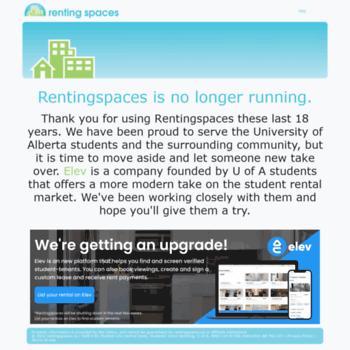 Rentingspaces.ca thumbnail